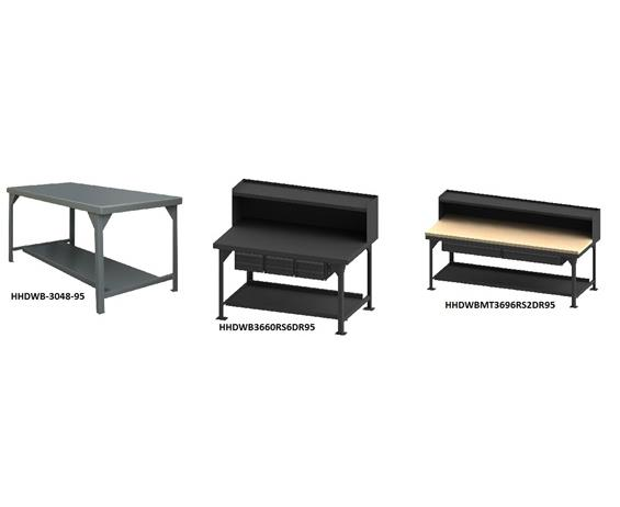EXTRA HEAVY-DUTY WORKBENCHES