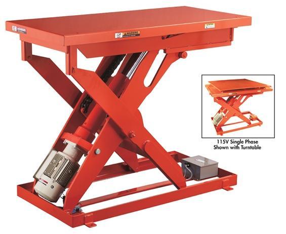 MLI HEAVY DUTY POWERFUL ELECTRIC MECHANICAL LIFT TABLES