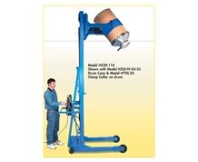 VERTICAL-LIFT DRUM POURER