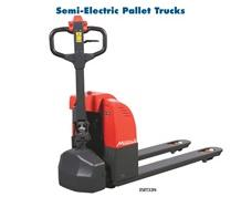 SEMI-ELECTRIC & FULL ELECTRIC PALLET TRUCKS