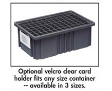 CARD HOLDERS FOR DIVIDABLE GRID CONTAINER