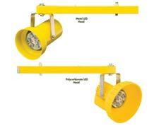 METAL OR POLYCARBONATE REPLACEABLE HEADS WITH LEDS