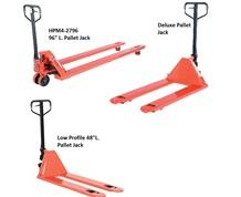DELUXE & LOW-PROFILE PALLET JACKS
